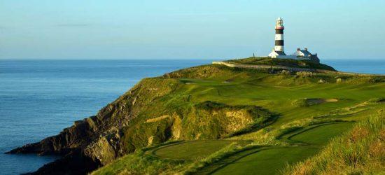 terrain de golf Irlande séjour linguistique