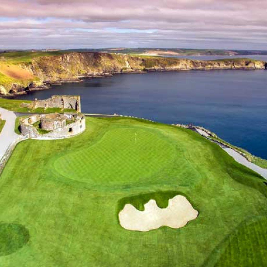 Anglais et golf adultes en Irlande